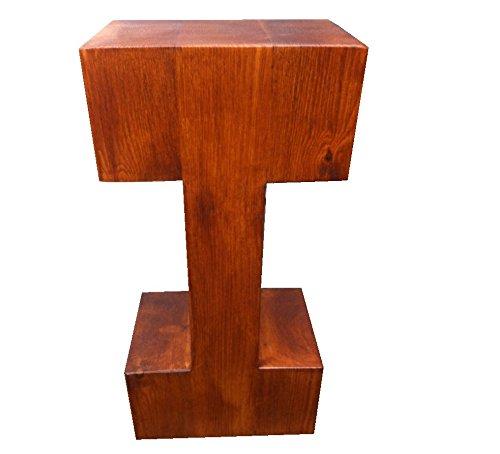 I con forma de pino proyección soporte mesa @ 80 cm de alto ...