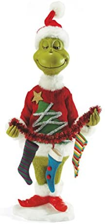 Department 56 Classics Mr. Grinch Figurine
