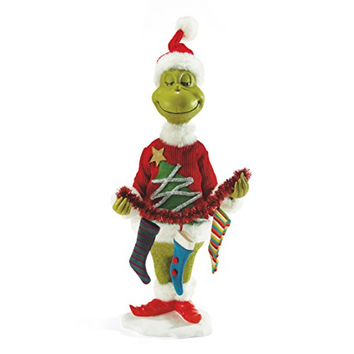 Department 56 Classics Mr. Grinch Figurine by Department 56