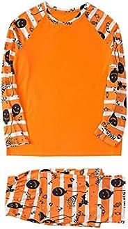 Family Pajama Family Pajamas Halloween Pajamas Costumes Pumpkin Sleepwear Outfits Matching Set Family Pajamas
