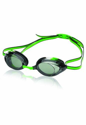 Speedo Vanquisher 2.0 Jr. Swim Goggles - Youth Black/Green