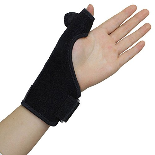 XIIYY Thumb Wrist Brace Splint,Thumb Splint Spica Hypoallergenic Support for Thumb Sprains Neoprene Splint for Arthritis Tendonitis Sprained Thumb Symptoms Broken Hyperextended - Thumb Spica Neoprene