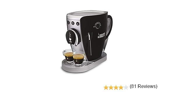Bialetti - Cafetera con sistema abierto Tazzissima negro: Amazon ...