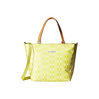 Petunia Pickle Bottom Altogether Tote Diaper Bag in Electric Citrus, Yellow