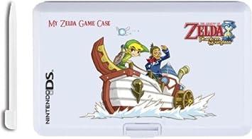 Caja Para El Almacenamiento Juegos Nintendo Ds Zelda Blanco