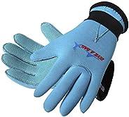 Kids Wetsuits Gloves 3MM Neoprene Anti-Slip Five Finger Scuba Diving Gloves