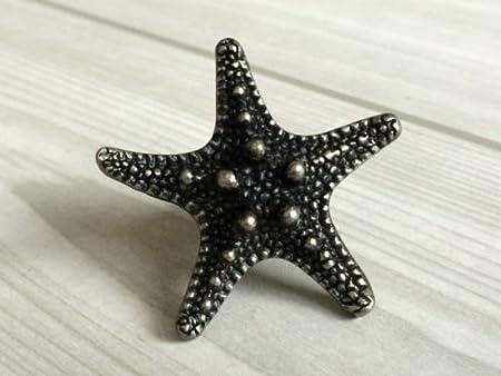 Cabinet Pull Antique, Cabinet Pulls Knob Starfish Sea Star Drawer Knobs  Cabinet Door Knob Antique