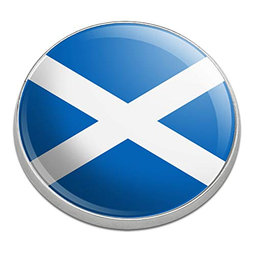 GRAPHICS & MORE Scotland Scottish Country Flag Golfing Premium Metal Golf Ball Marker