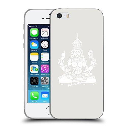 GoGoMobile Coque de Protection TPU Silicone Case pour // Q09560631 Hindou 10 Platine // Apple iPhone 5 5S 5G SE