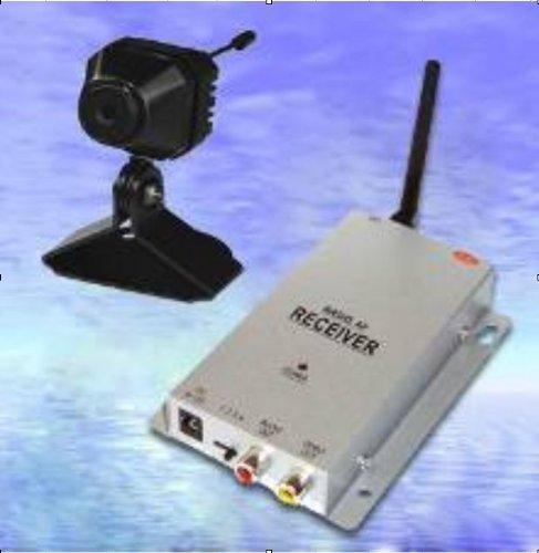 Azimporter Tiny Wireless Security Spy Surveillance Protection 2.4Ghz Camera [並行輸入品] B01LWZO771
