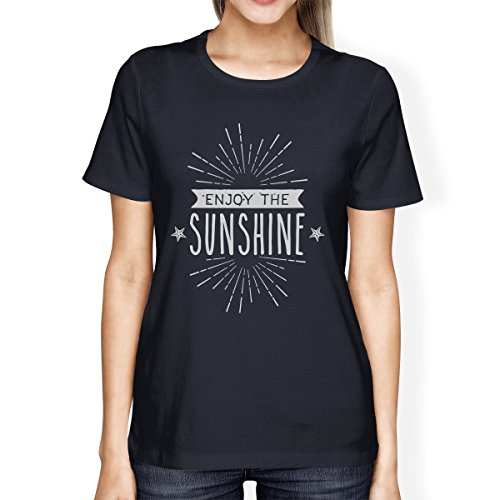 365 Femme Manches Courtes Sans Unique Manche Sunshine Taille Printing Enjoy Pull The TqwOrTY