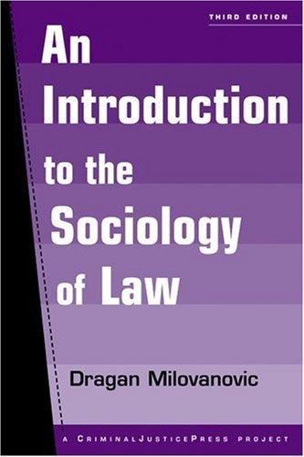 Sociology of Law: 3rd (Third) edition pdf