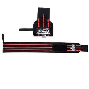 Schiek Wrist Wraps - Extra Long (Black) - New!