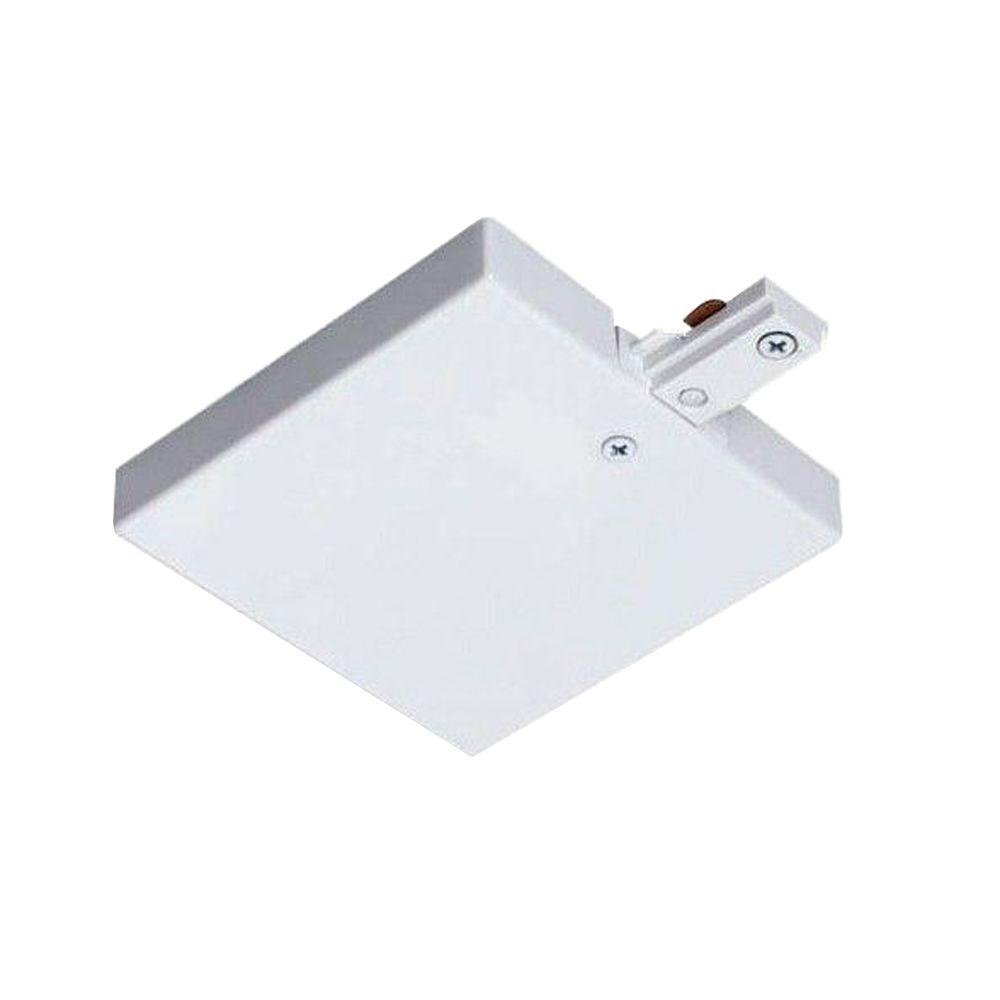 Juno Lighting R36WH T-Bar End Feed, White
