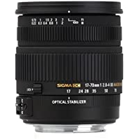 Sigma 17-70mm f/2.8-4 DC Macro OS HSM Lens for Canon Mount Digital SLR Cameras Basic Facts Review Image