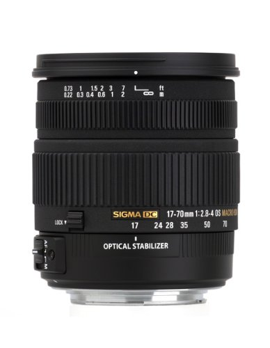 Price comparison product image Sigma 17-70mm f / 2.8-4 DC Macro OS HSM Lens for Canon Mount Digital SLR Cameras