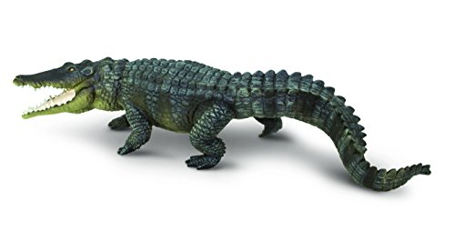 Safari Ltd Incredible Creatures Saltwater Crocodile Realistic Hand-Painted Toy Figurine Model For Ages 3 And Up  Large