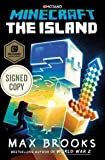 Minecraft - The Island - AUTOGRAPHED by Max Brooks (SIGNED EDITION) Available 7/18/17