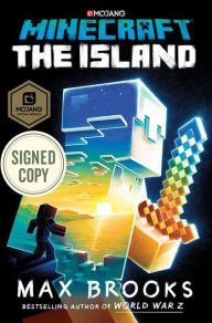 Minecraft   The Island   Autographed By Max Brooks  Signed Edition  Available 7 18 17