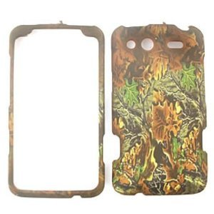 HTC Salsa Camo / Camouflage Hunter Series Hard Case, Snap On Cover
