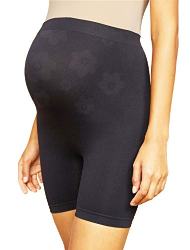 ANGOOL Women's Mamas Shaper Maternity Shapewear Pregnancy Seamless High Waist Support Underwear for Dresses Black