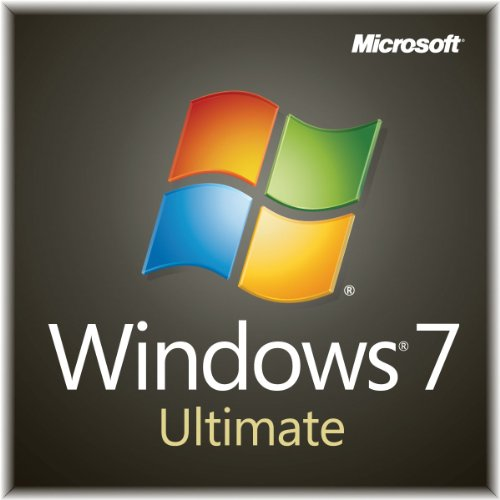 Windows 7 Ultimate SP1 64bit (Full) System Builder OEM DVD 1 Pack [Old Packaging]