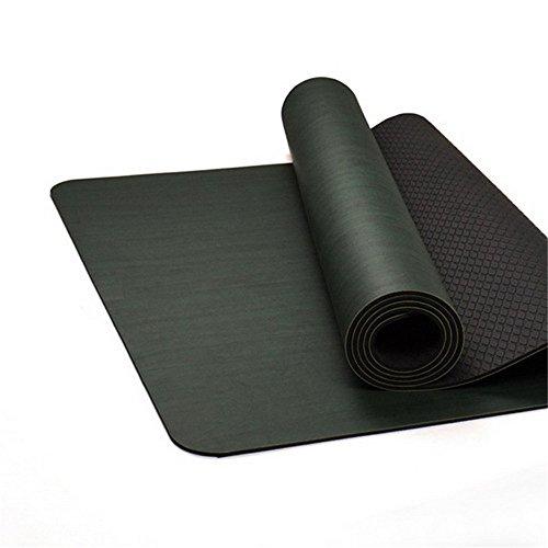Techecho Tapis de yoga Tapis de yoga Tapis de yoga Tapis de yoga Tapis de yoga Tapis de yoga pour la salle de gym.