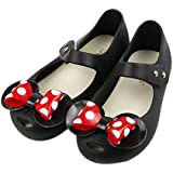 iFANS Girls Sweet Dot Bow Princess Mary Jane Flats for Toddler/Little Kid