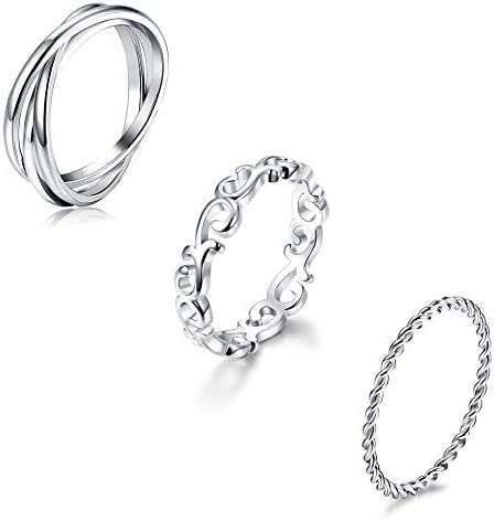 YADOCA Stainless Stackable Eternity Celtic product image
