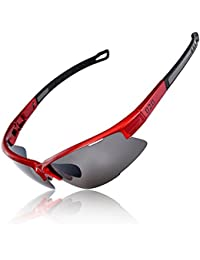 [Polarized] Sports Sunglasses [Tr90] Frame [One of the...
