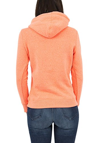 Superdry Entry Sweatshirts Coral Snowy Hood Mfg Xs Female Fluro And Hoodies OxPI7dxn