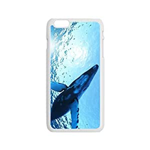 Blue Whale Hight Quality Plastic Case for Iphone 6