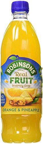 Added Orange Juice - Robinsons Orange & Pineapple No Added Sugar Squash 1000g