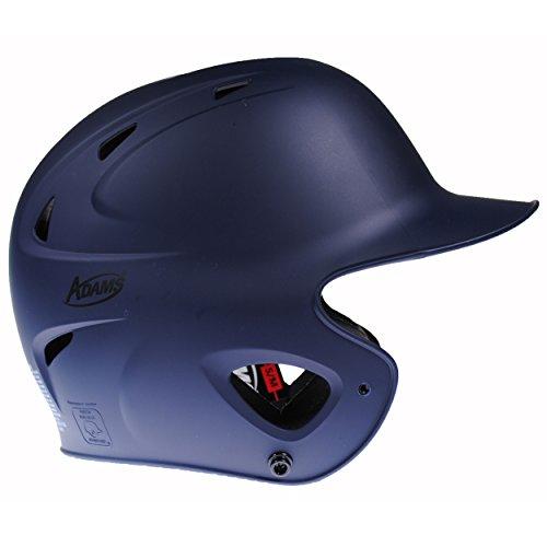 Adams USA Performance Baseball Batting Helmet - NOCSAE Approved (Navy Blue, S/M) (Batting Helmets Approved Softball)