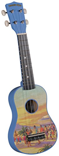 Diamond Head DU-133 Vintage Series Soprano Ukulele - Vintage Hawaii ()
