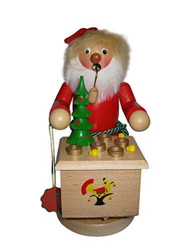 Santa Musical Nutcracker - Steinbach Smoker Christmas Santa 13 inch Musical German Incense Smoker