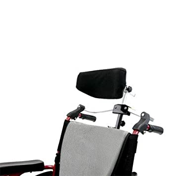 Amazon.com: Plegable rigidfy silla de ruedas reposacabezas ...