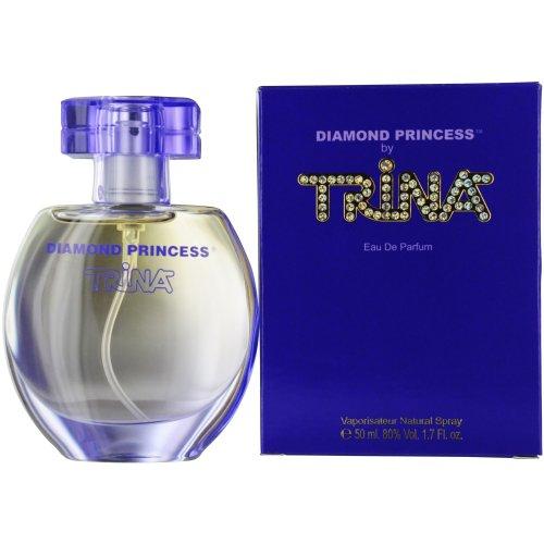 Trina Diamond Princess Eau de Parfum Spray, 1.7 Ounce