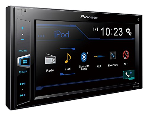 "Pioneer MVH-AV290BT 6.2"" Double-DIN In-Dash Digital Media A/V Receiver with Bluetooth"