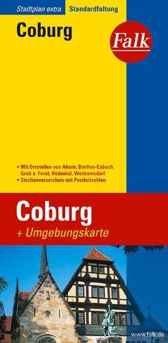 Falk Stadtplan Extra Standardfaltung Coburg
