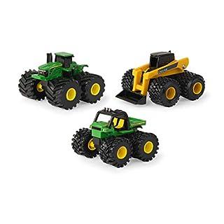 John Deere Monster Treads Mini Mudder 3pk Toy Set - LP75981