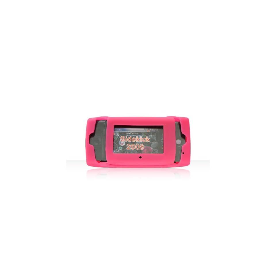 DB Premium Sharp Sidekick 2008 Silicone Skin Case Pink