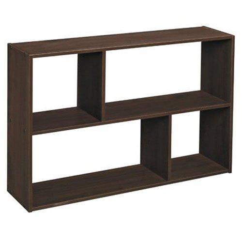 ClosetMaid 1581 Cubeicals Off-set Mini Organizer, Espresso