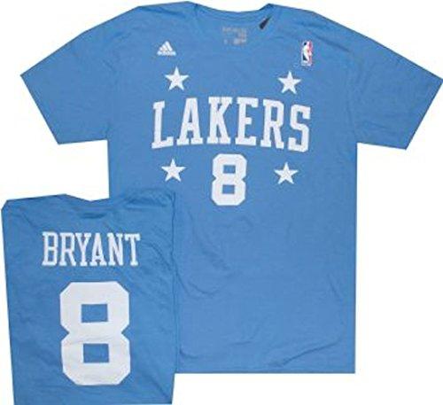 Lakers Adidas Jersey (adidas Los Angeles Lakers Kobe Bryant Player T Shirt (Medium))