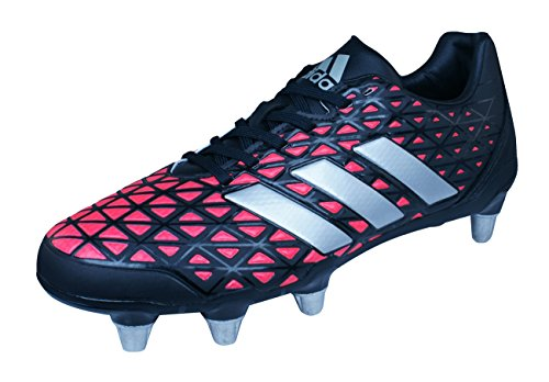 Elite Rugby Boots (adidas Kakari Elite SG Mens Rugby Boots-Black-9)