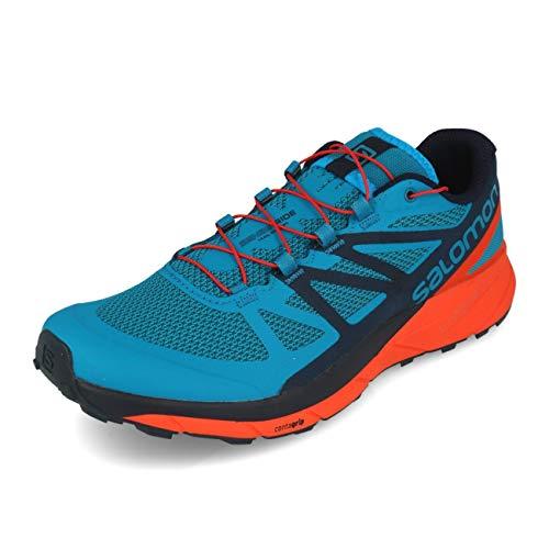 Da Running Ride Sense Uomo Trail Salomon Blu Scarpe qn6wfxXt