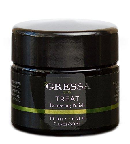Gressa Skin - Organic Renewing Polish/Facial Exfoliator (1.7 oz/50 ml)