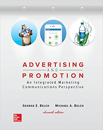 Loose Leaf For Advertising And Promotion George E Belch Michael A 9781260152302 Amazon Books