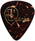 D\'Andrea TG351, 0.71MD Celluloid Guitar Picks, 12-Piece, Shell, Medium