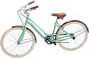 Bicicleta  Mercurio Regina Rodada 26  para Dama, Ciudad, Verde con café